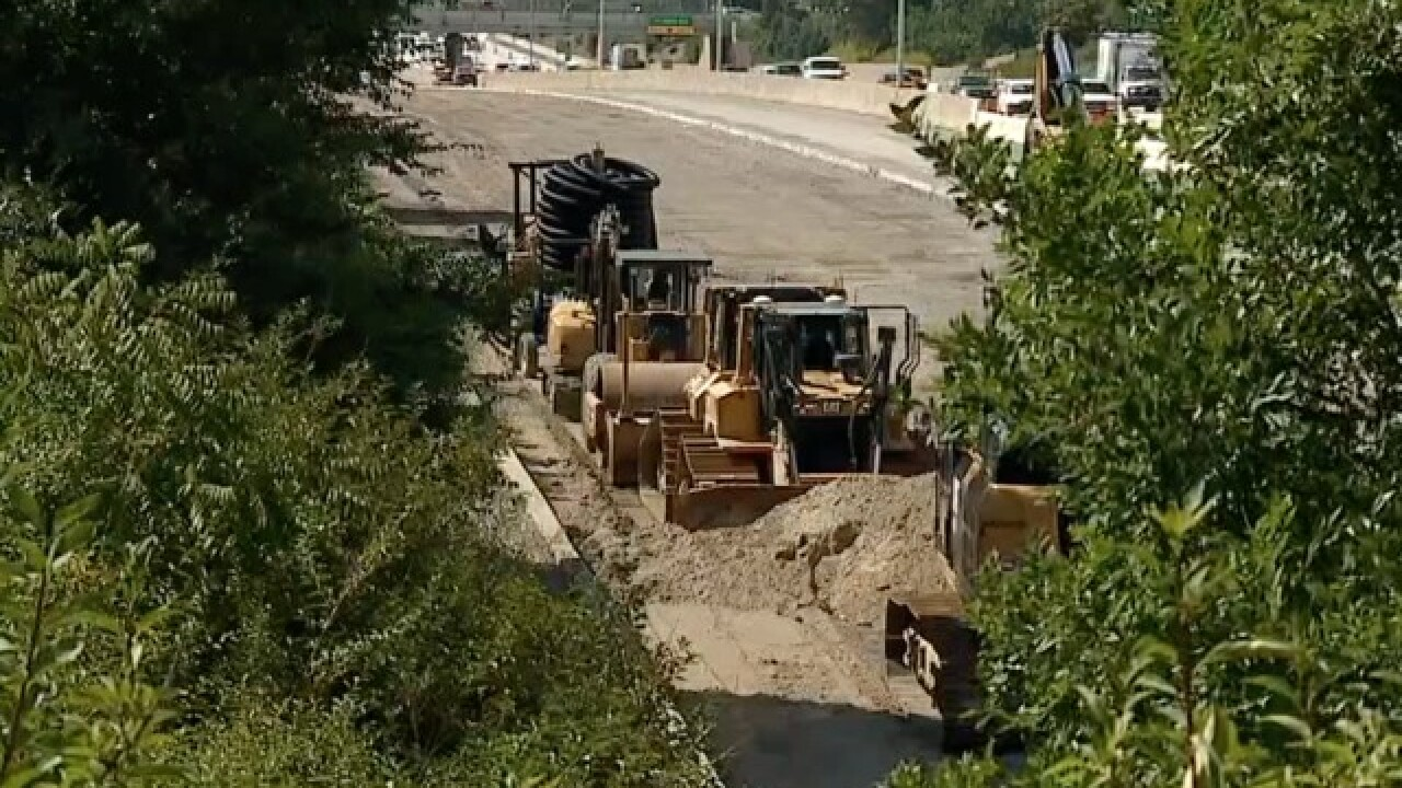 Work stoppage continues on MI roads