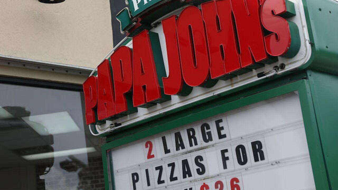 Papa John's possible new logo drops the apostrophe