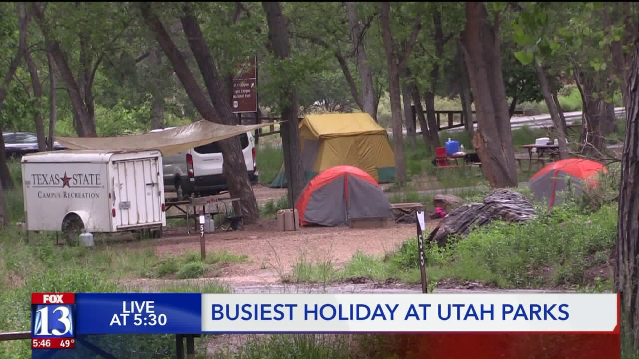 Busiest weekend of year coming up for many national, state parks
