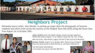 'Neighbors' art installation in Surprise
