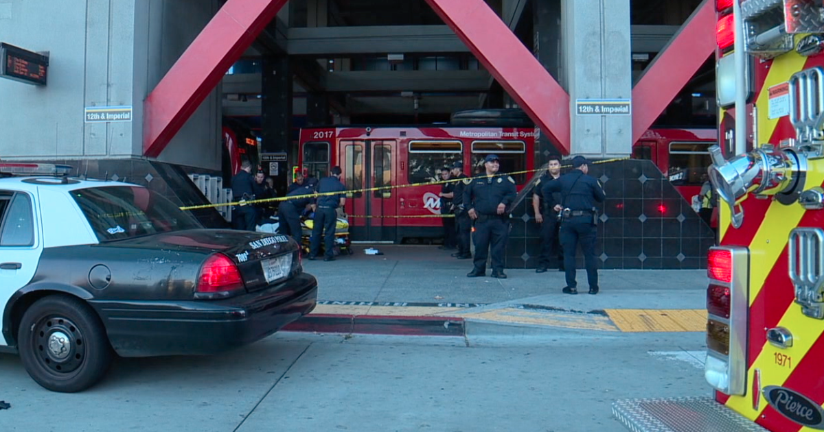 Man stabbed near East Village trolley station