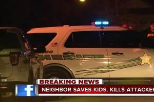 'Hero' neighbor shoots, kills domestic violence suspect in Pasco County