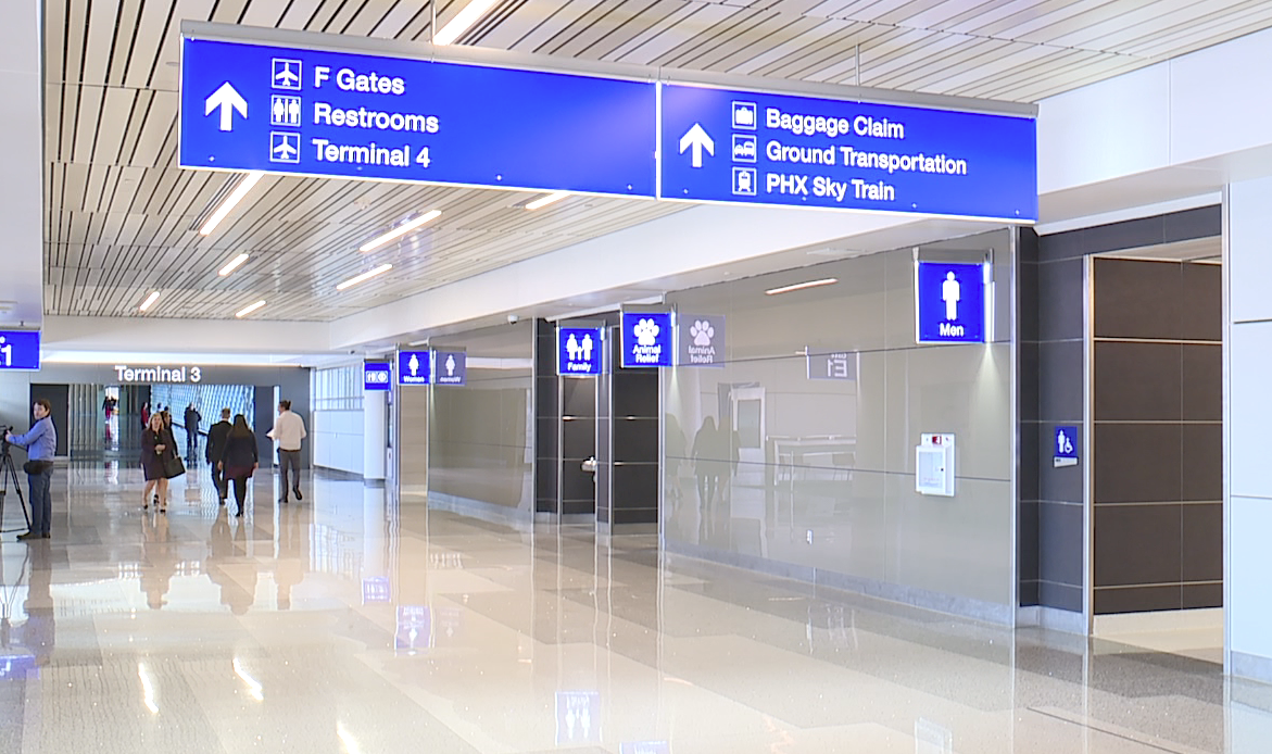 North Concourse at Sky Harbor's Terminal 3 to open Feb. 3