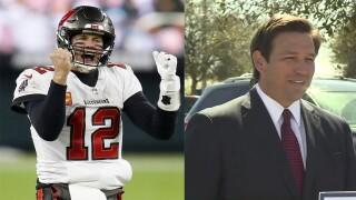 Tom Brady and Ron DeSantis, Super Bowl LV predictions