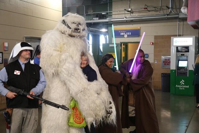 Best fan photos from 'Star Wars Night' at Miller Park