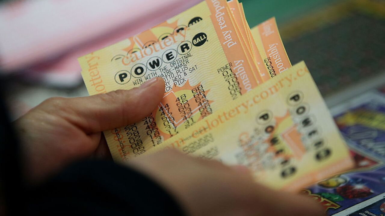 Weekend Powerball drawing jumps to $304 million