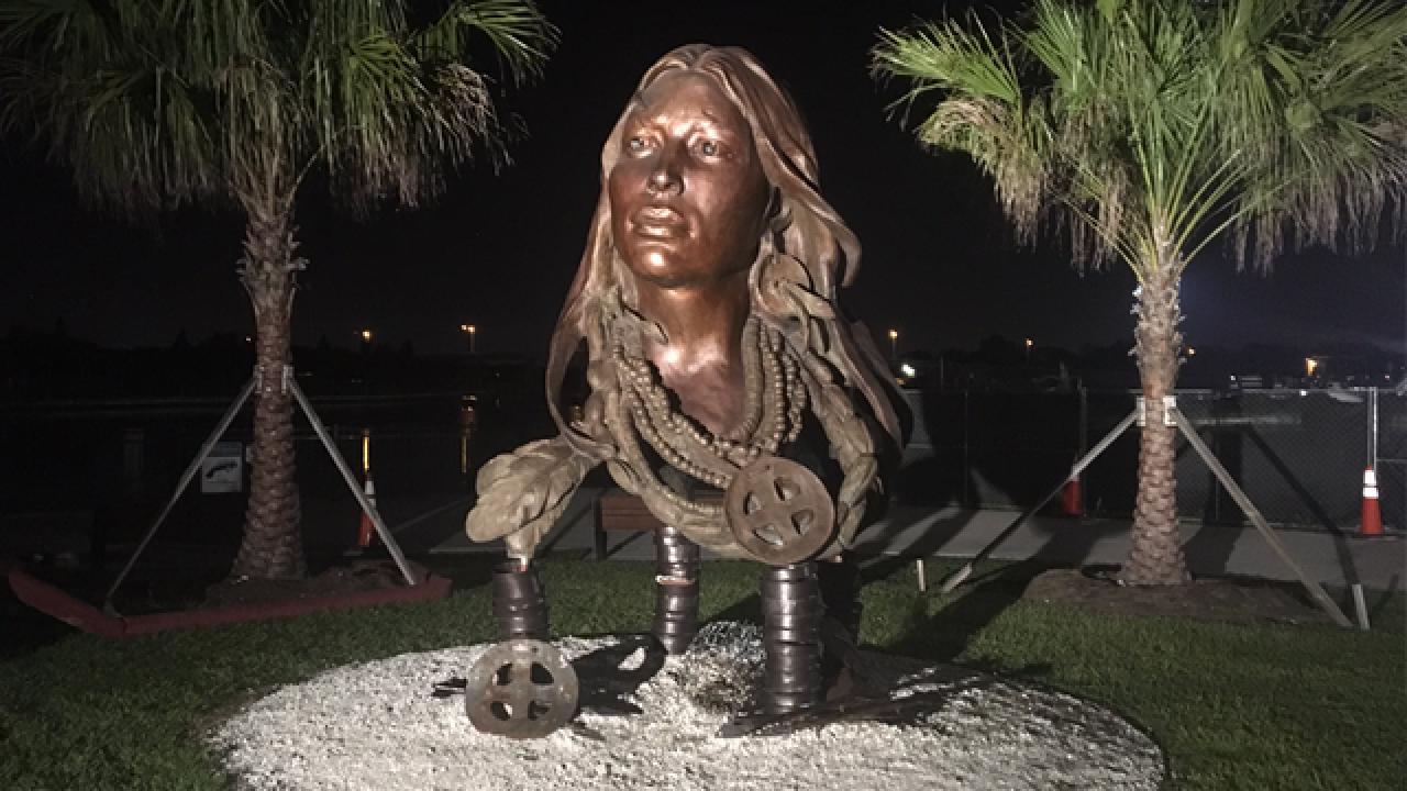 Princess Ulele bust ordered off Tampa Riverwalk