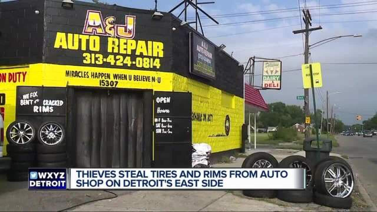 Auto repair owners speak out after being robbed