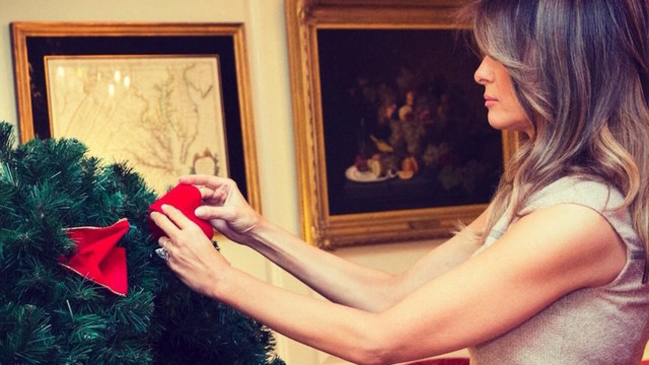 White House holiday 2017 decor unveiled by First Lady Melania Trump