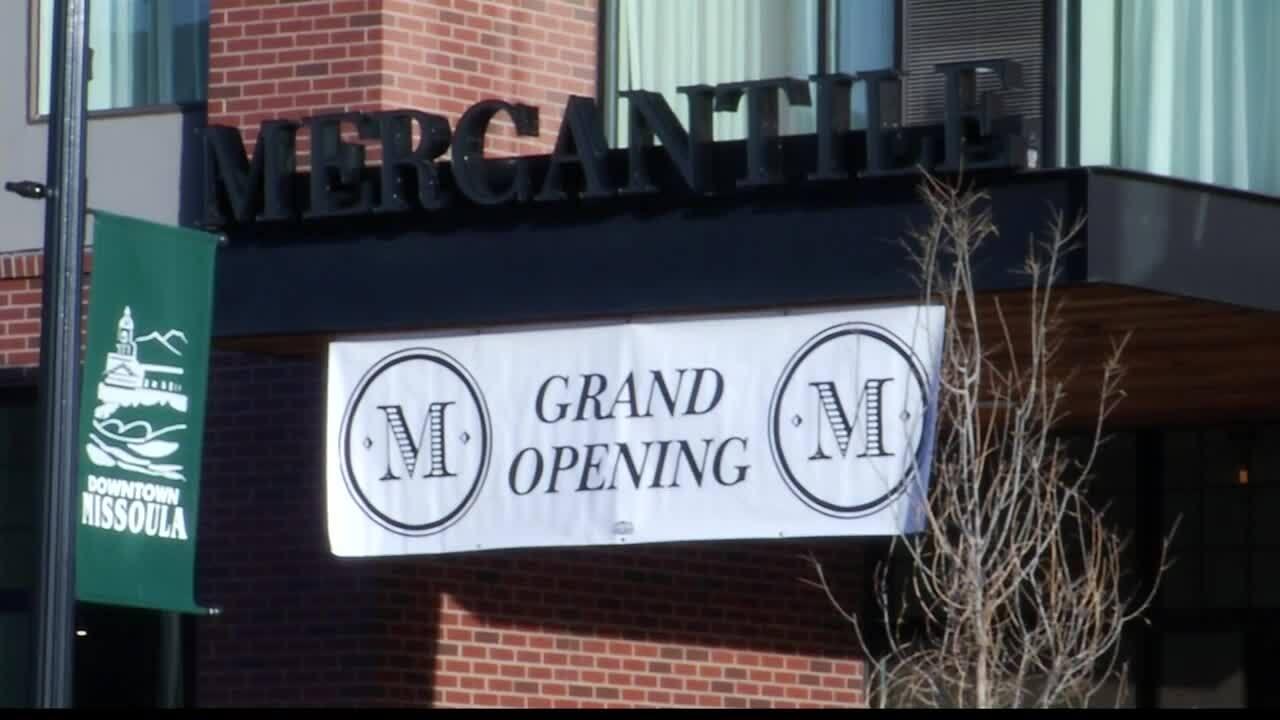Mercantile Opening