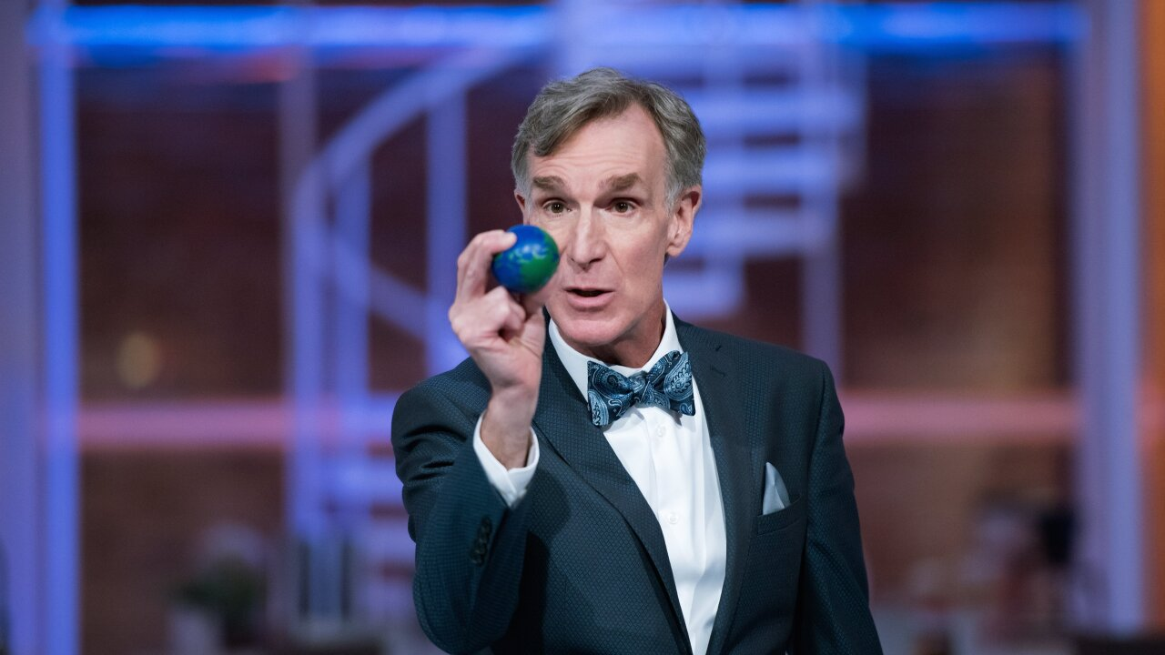 Bill Nye says it's time to grow up and realize the planet is on fire
