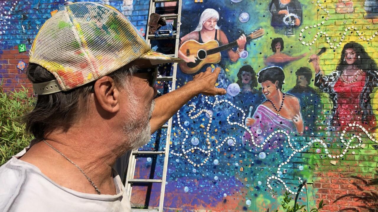 Terry Klaaren mural