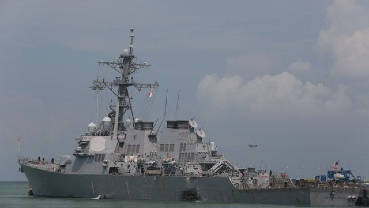 After accidents, US Navy 7th Fleet commander dismissed, official says