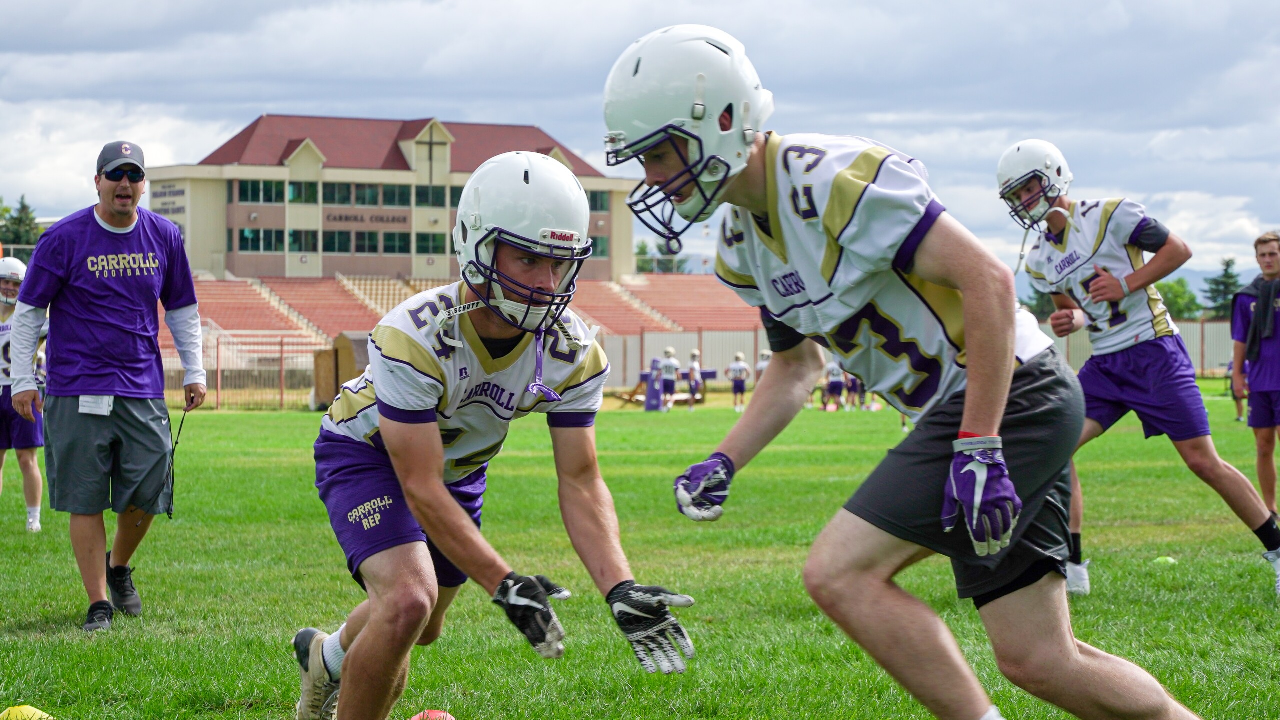Photos Carroll College Football Fall Camp Underway