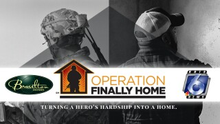 Operation Finally Home Web Promo graphic