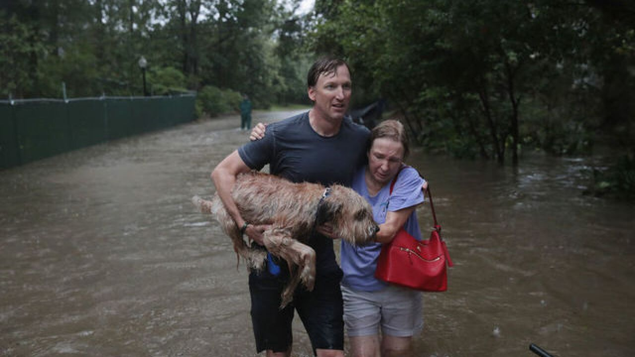 Live video as catastrophic flooding hits Texas