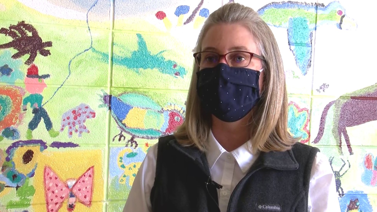 Kim Defries, Morningside Elementary School Principal