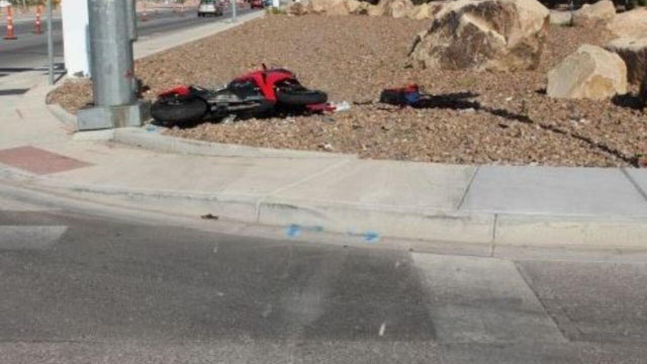 Motorcyclist dies in Thursday crash