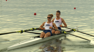 Michelle Sechser and Molly Reckford train at  Nat Benderson Park in Sarasota
