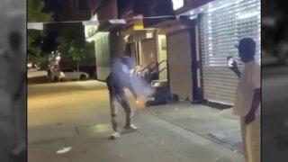fireworks thrown on homeless man.jpeg