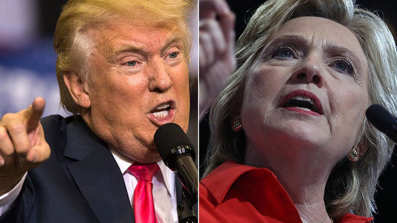 Trump's strange, headline-grabbing week, plays to Clinton's advantage