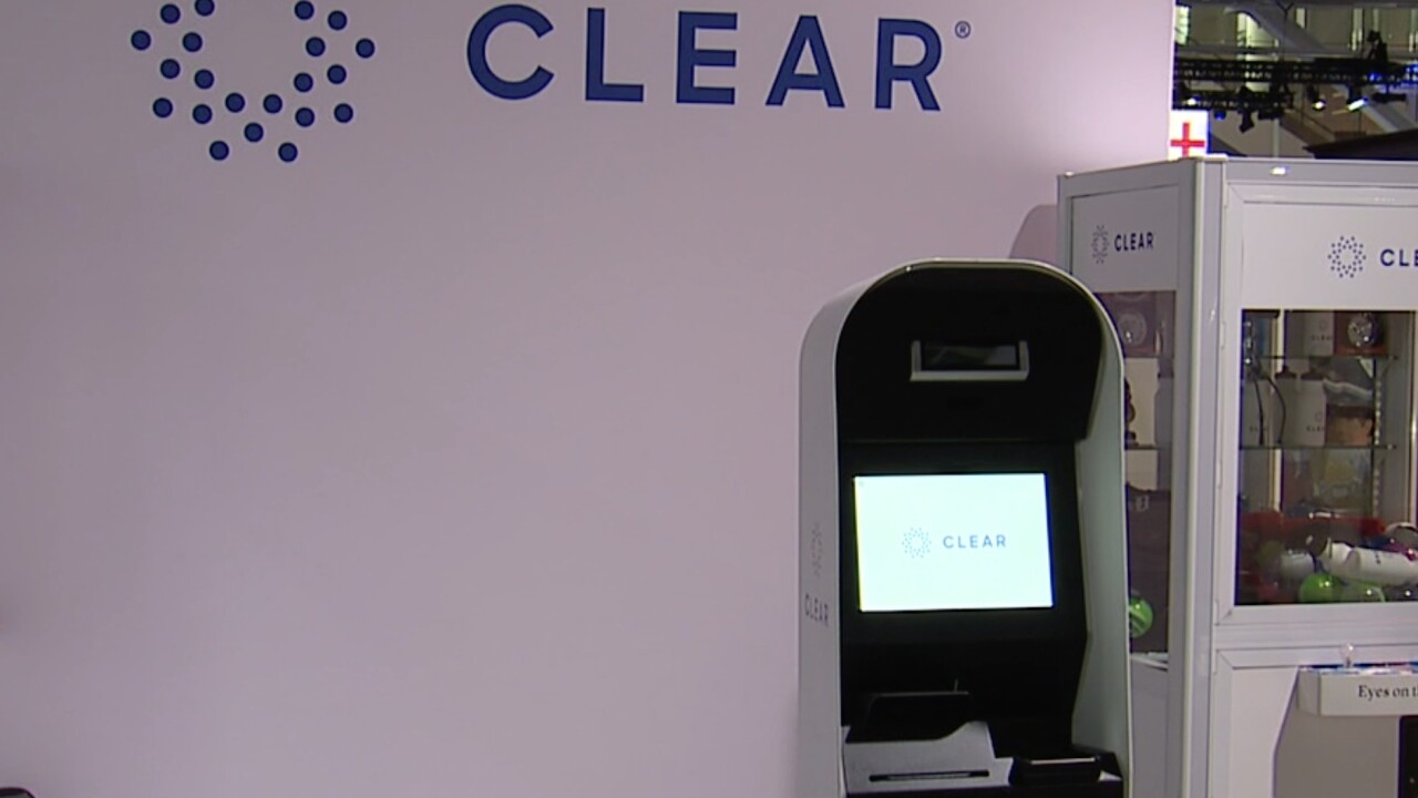 CLEAR is being used at the MLB All-Star Game in Cleveland