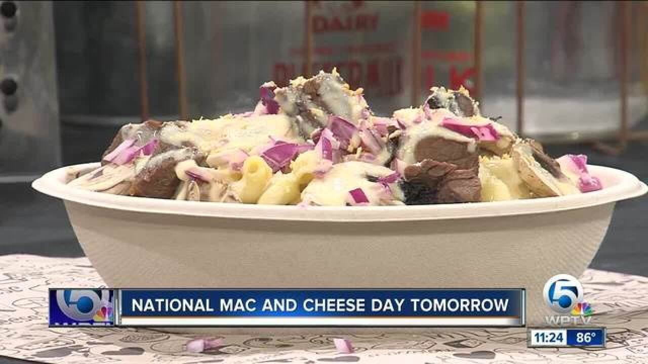 National Mac and Cheese Day is July 14