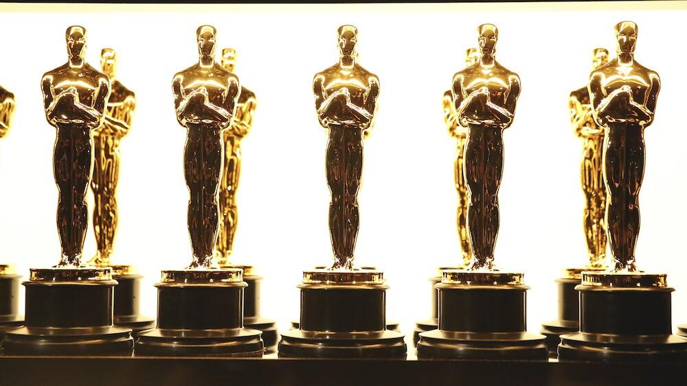 Oscar trophies awards