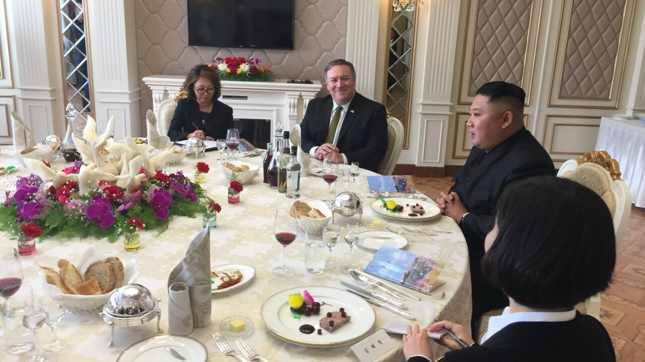 Pompeo hails 'another step forward' after 2-hour meeting with Kim Jong Un