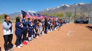 Corner Canyon Military Appreciation Game