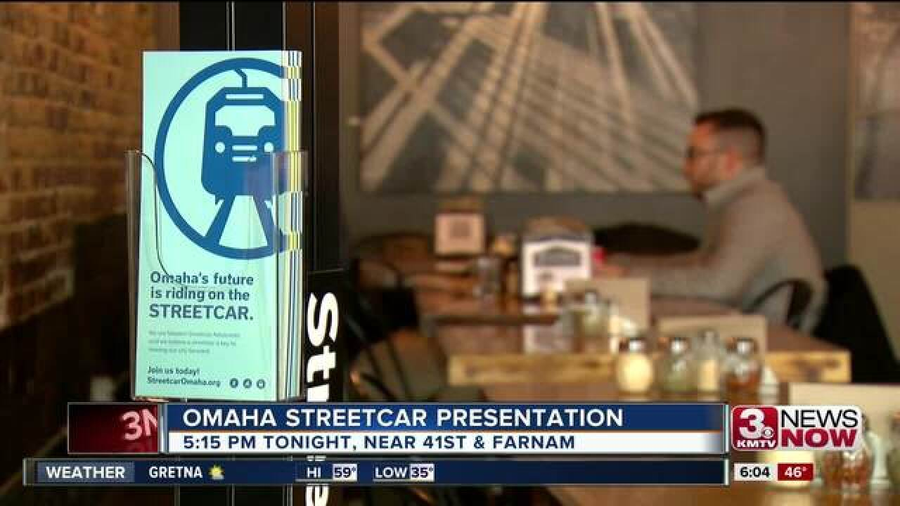 Streetcar advocates to host presentation Tuesday