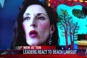 McComb, Canales react to lawsuit over beach closures
