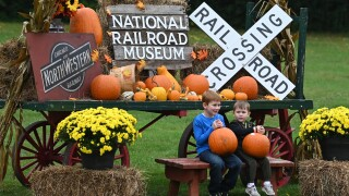20th annual 'Great Pumpkin Train' at the National Railroad Museum