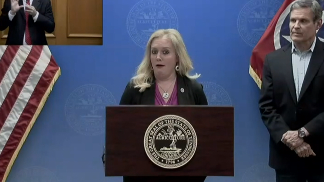 Tennessee Health Commissioner Lisa Piercey expresses shock over prison test results