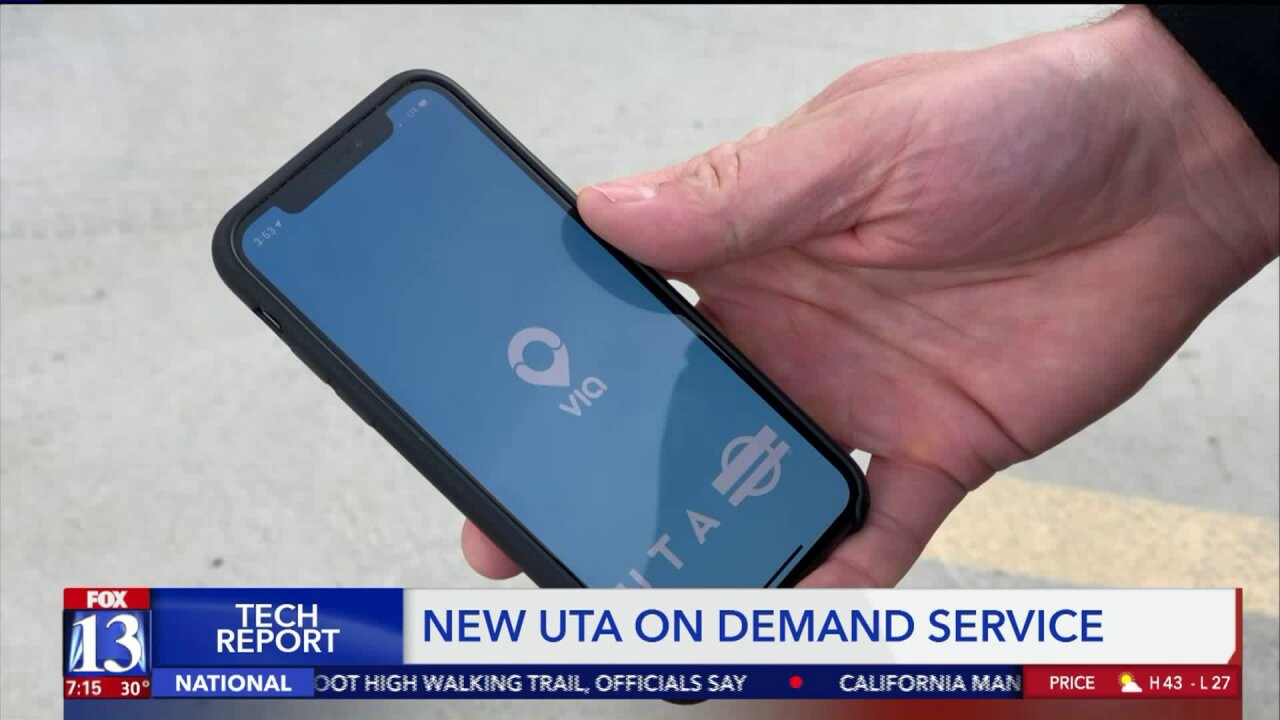 UTA goes on demand with new ridesharing partnership