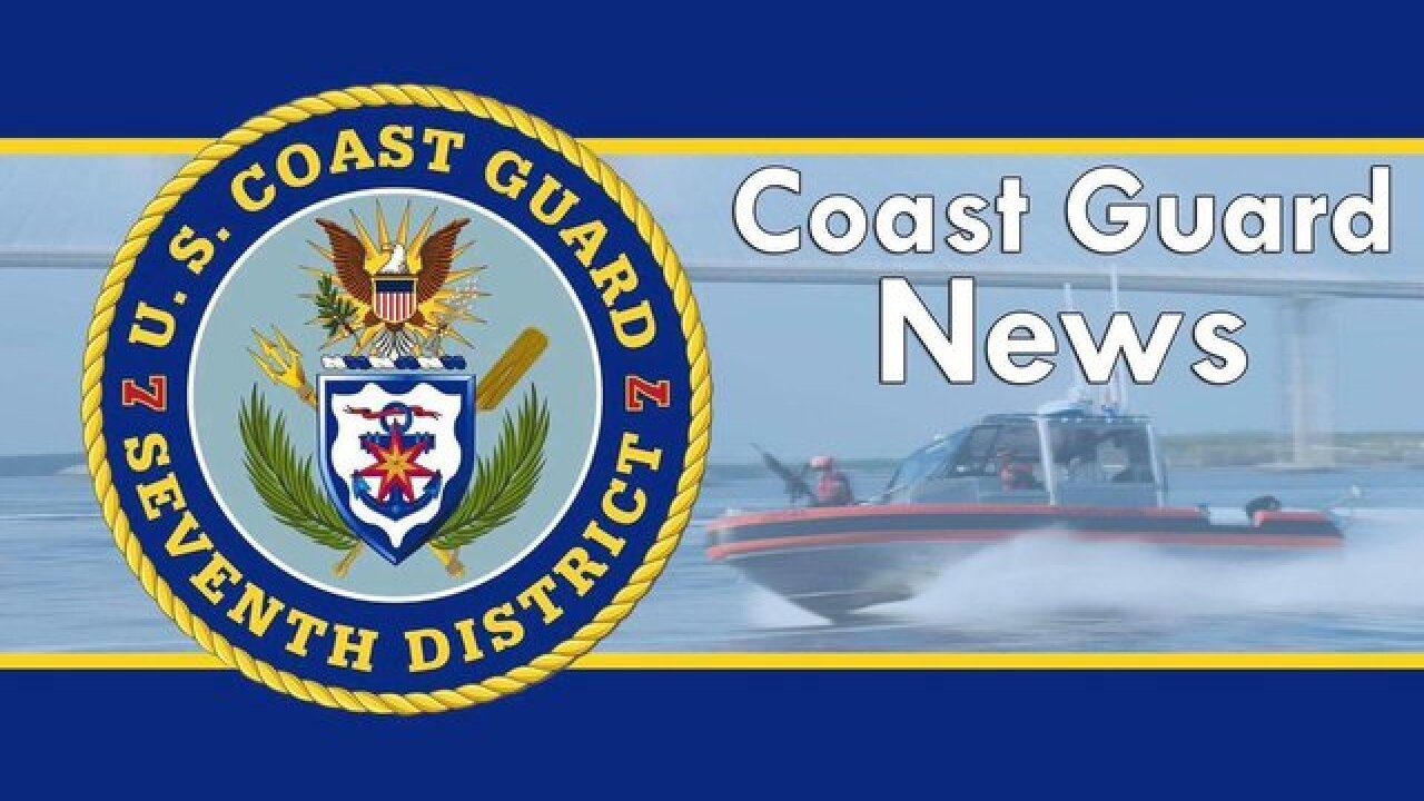 Good Samaritan helps Coast Guard save man from sinking boat