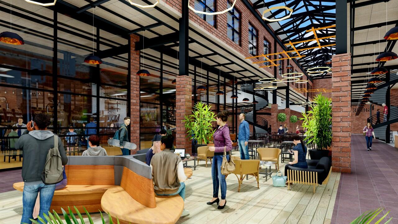 Future rendering of Hudson's City Market. Courtesy: Contour Companies