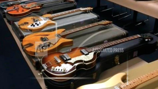 Police in California recover 9 stolen vintage guitars