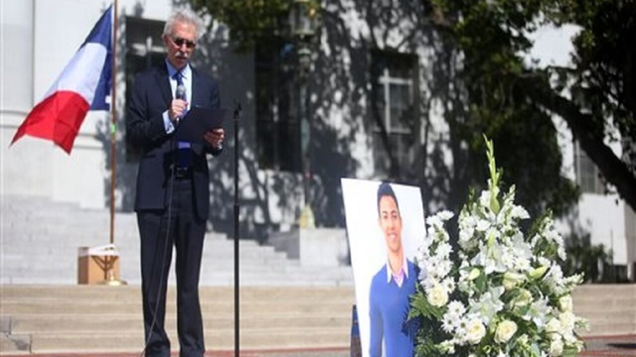 Berkeley student killed in Nice honored at campus vigil