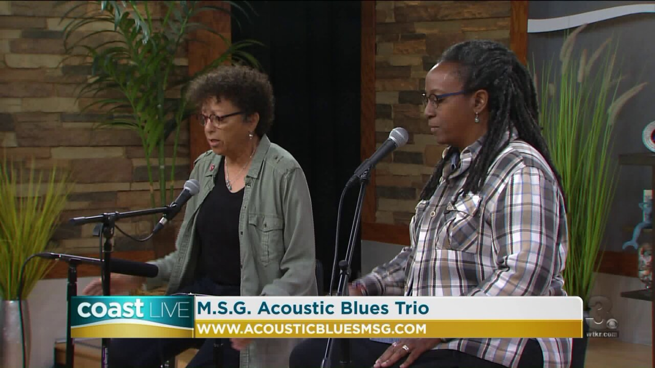 Local music spotlight with M.S.G. Acoustic Blues Trio on CoastLive