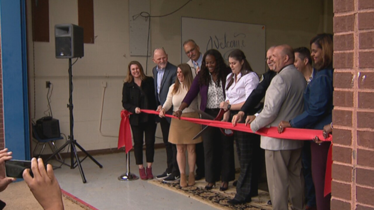 Ribbon cutting ceremony held for McGavock High's new crime lab