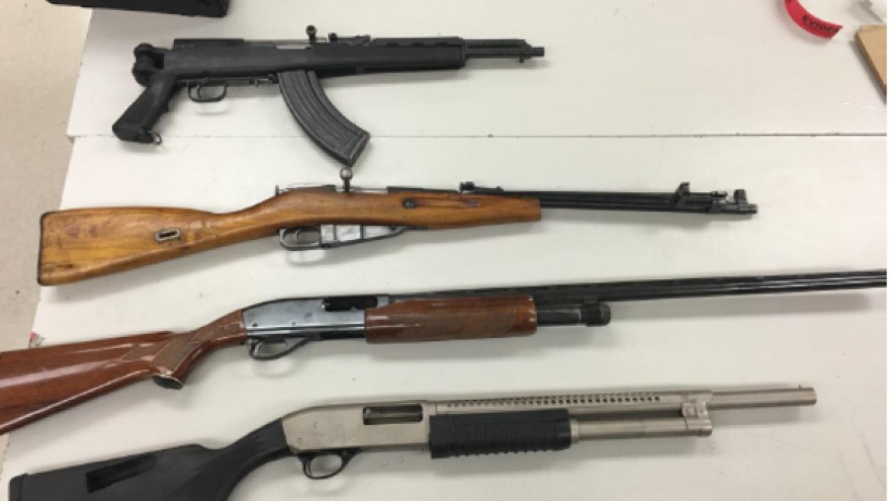 BPD arrest 3 people for running honey oil lab, 5 guns seized