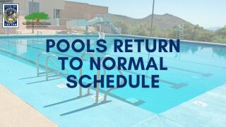 pools reopen in Tucson