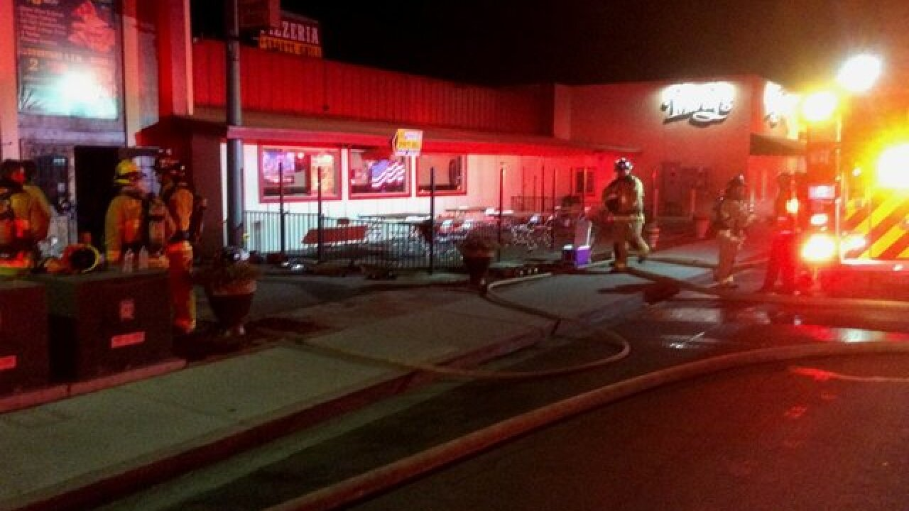 Fire damages Lakeside pizzeria
