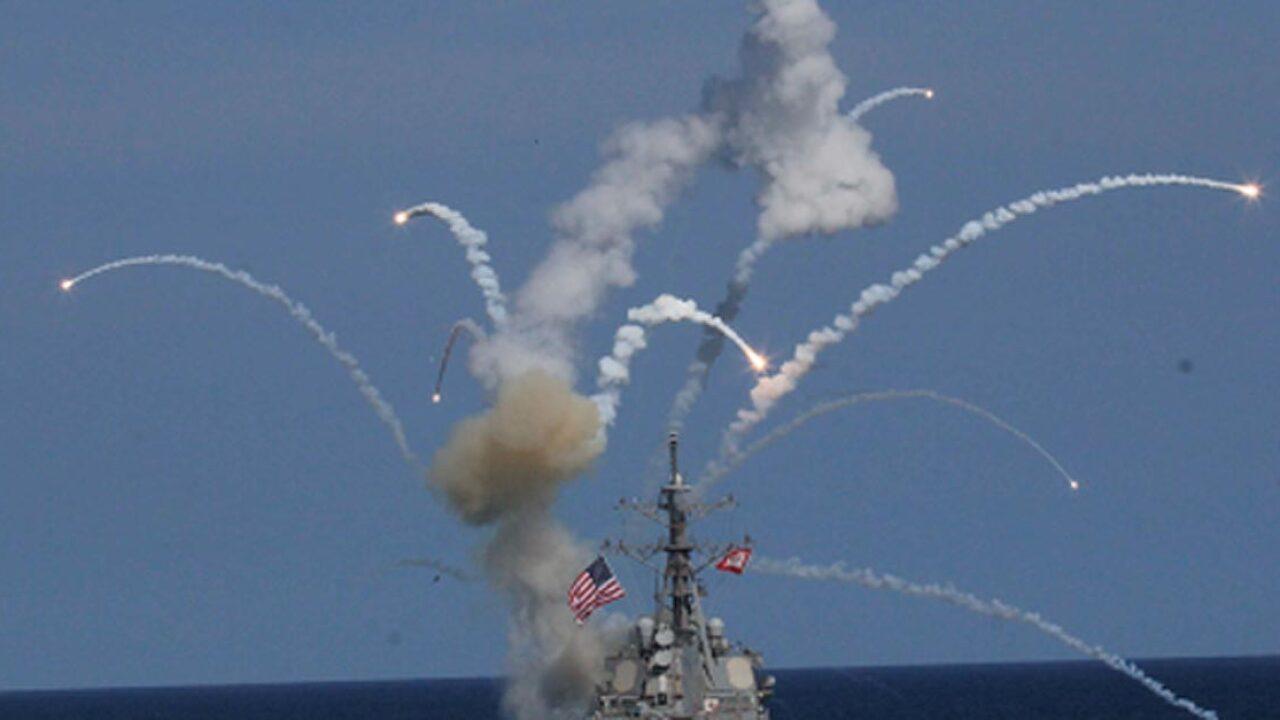 USS The Sullivans damaged after missile explodes during testlaunch