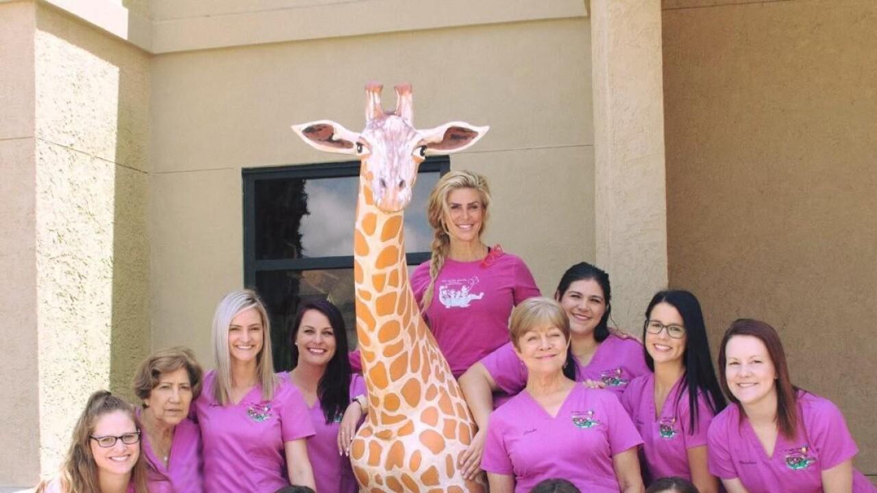 Gracie the Giraffe