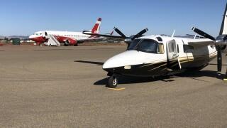 Aircrafts at the Santa Maria Air tanker base