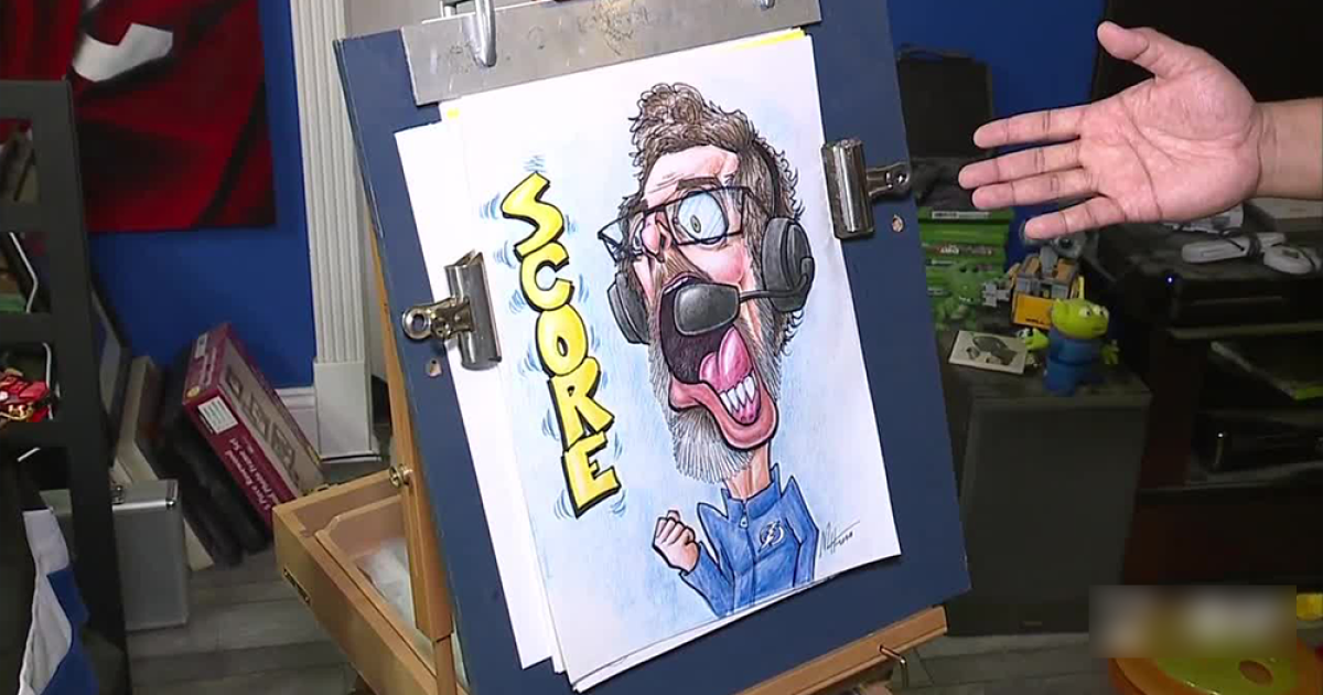 Local artist captures emotion of Lightning's Stanley Cup run