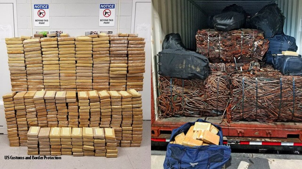 $31 million cocaine bust in Savannah, Georgia, sets a new record