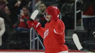 Robby Fabbri Lightning Red Wings Hockey